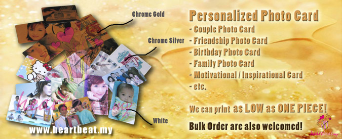Personalized Photo Card  Birthday Card, Member Card, Family Card, Motivational Card, Inspirational Card  Wedding Card