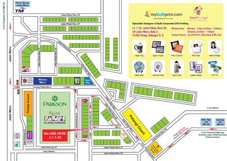 How to Get to My Bulk Print Sdn. Bhd.? Download & Print This Map