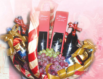Wine packages make meaningful house visit gifts, says Lee of Finesse Elegance.