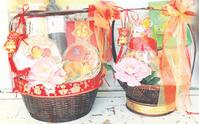 Hampers are popular among family members who can't make it home for the celebration.