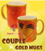Couple Gold Mug