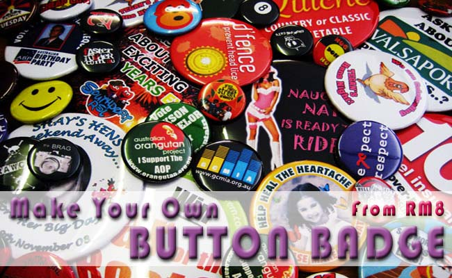 Button Badges | Personalized Your Badge |Button Badge Design